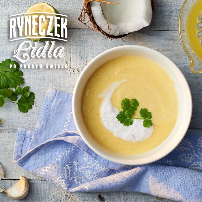 Zupa Z Mango Z Imbirem I Limonka Przepis Recipe Food Zupa Fruit