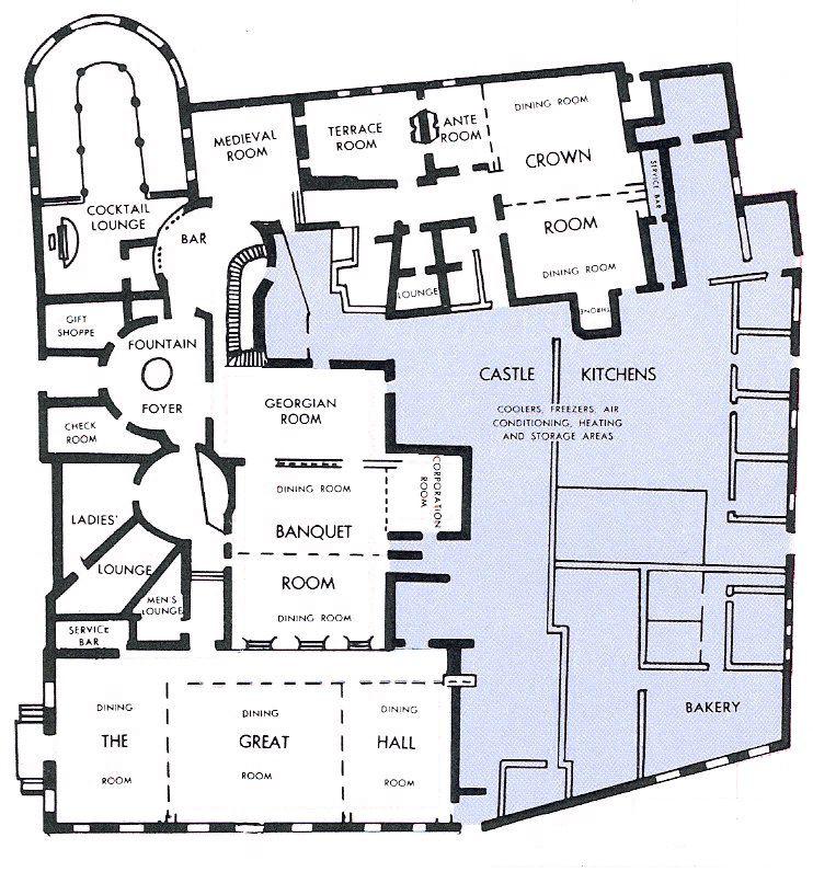 Image Detail For Castle S Menu Summarizes Well The Life Interiores De Castillo Planos De Casas Planos