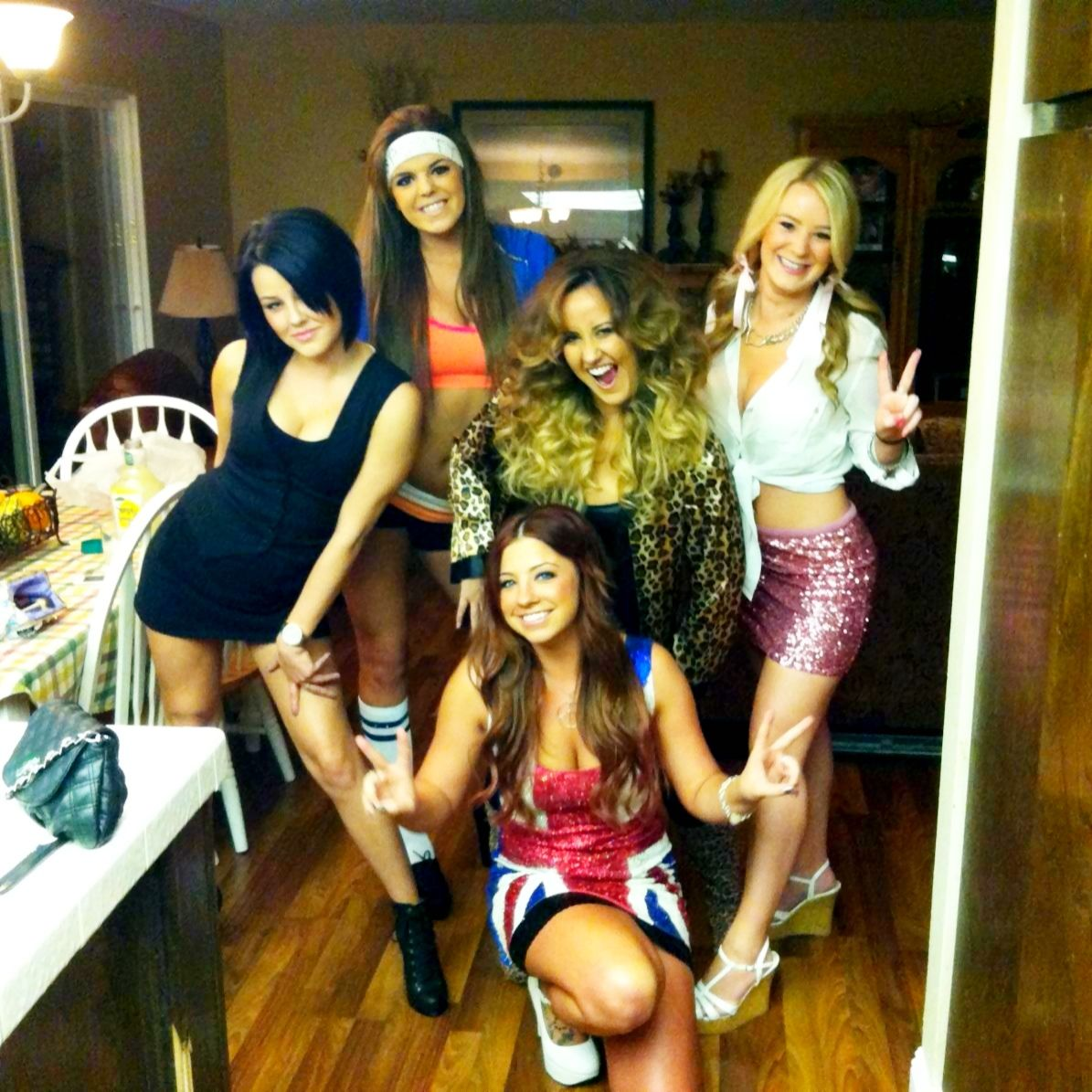 diy spice girls costumes! | riches&rags | pinterest | halloween