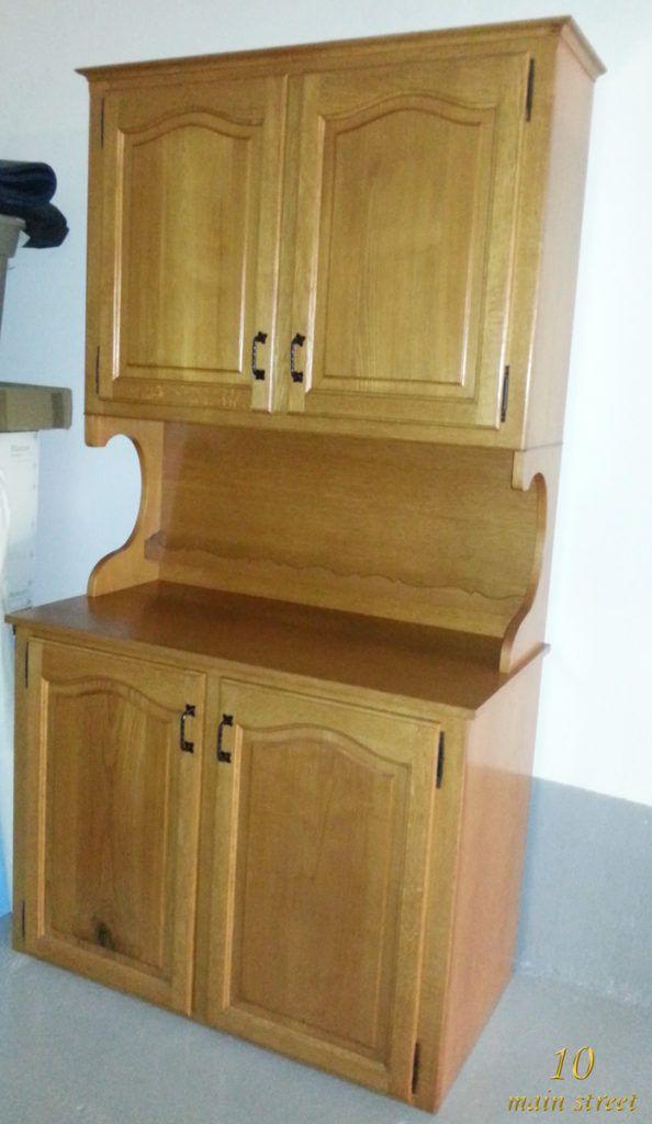 Exemple de meuble verni  le buffet dans son état d\u0027origine - Peindre Meuble En Chene Vernis