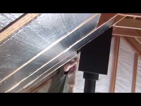 Off Grid Cabin Insulation and Paint - YouTube