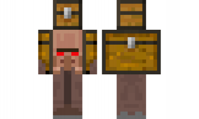 Minecraft Skin Evil Traveling Villager Minecraft Skins Pinterest