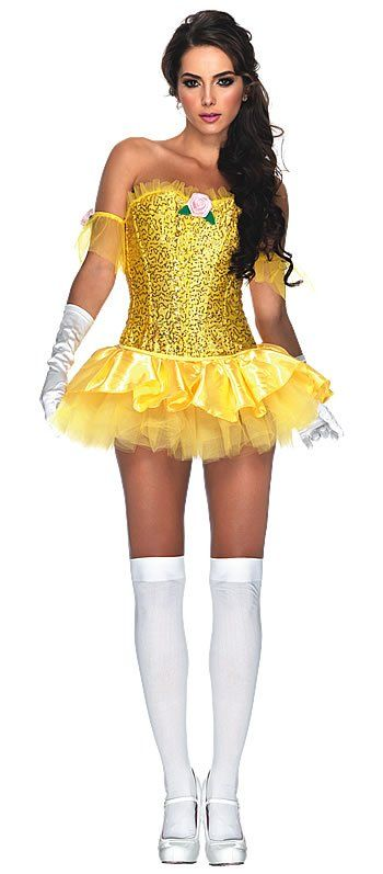 Enchanting Princess Belle Costume - Womens Disney Princess Costumes  sc 1 st  Pinterest & Enchanting Beauty Halloween Costume This is my costume for next ...