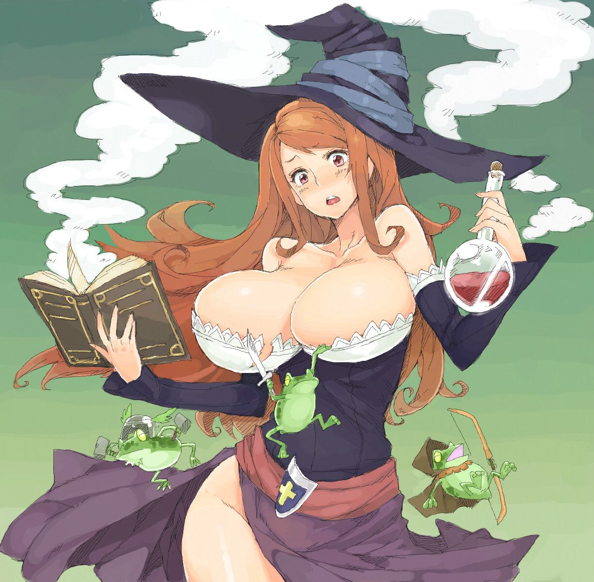 Cleared dragon crown sorceress futa