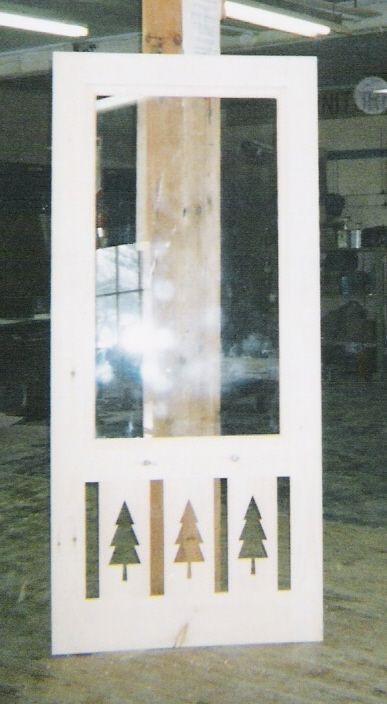 Decorative Wood Screen Doors | Custom Wood Storm And Screen Insert  Combination Door. Custom Wood