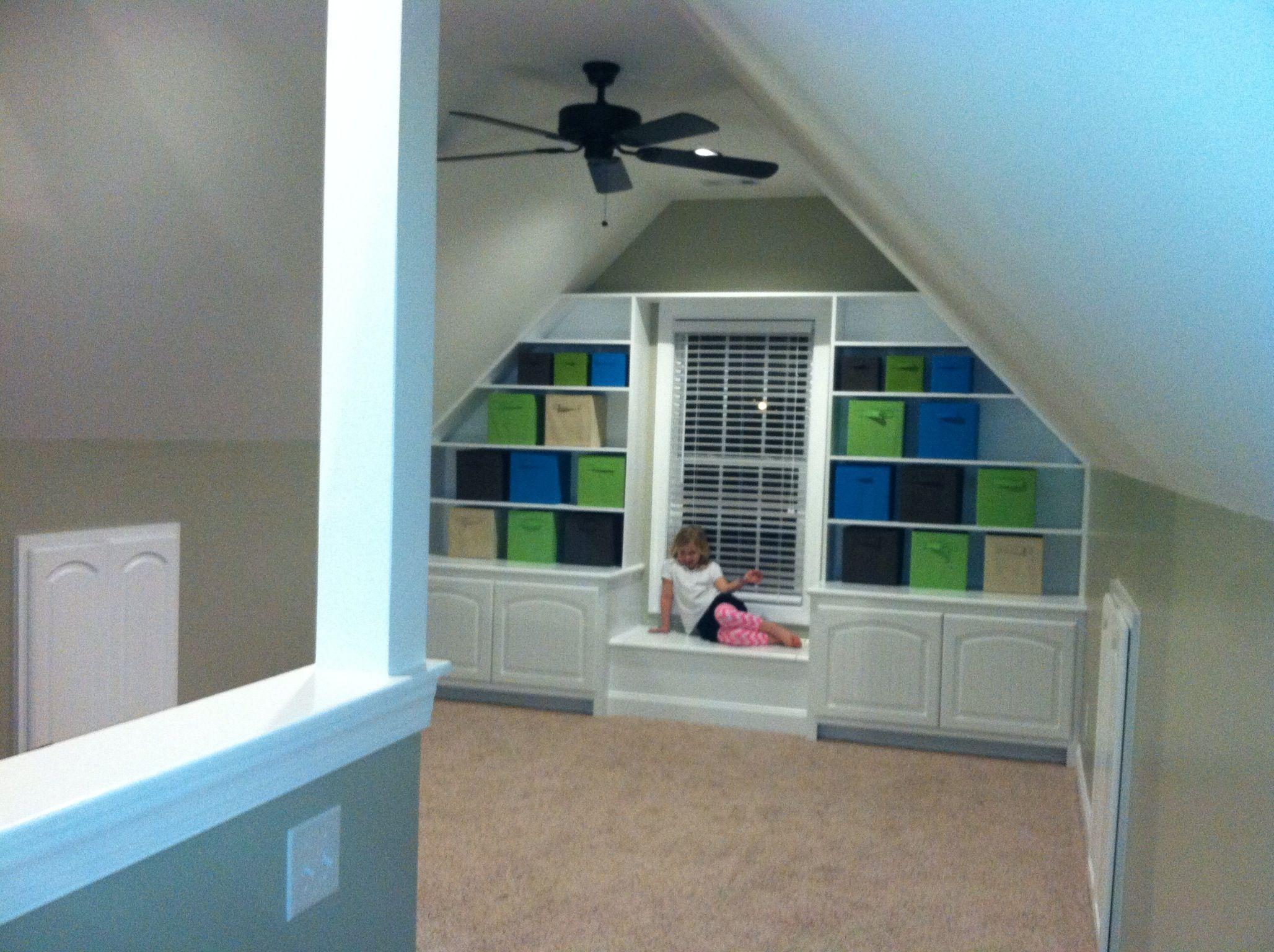Built In Storage Bonus Room 2019 Design