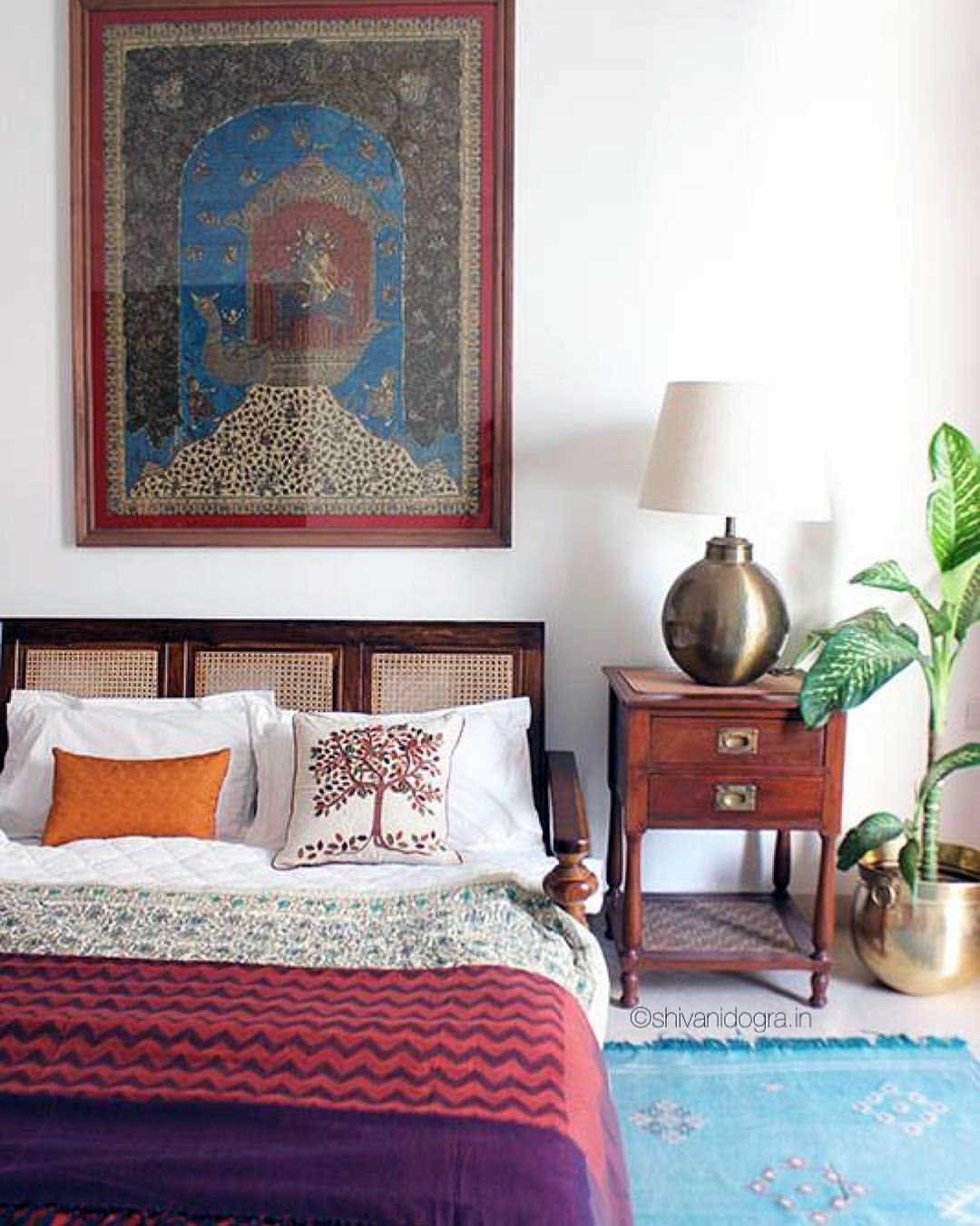 60 Best Indian Traditional Bedroom Decor | Traditional ...