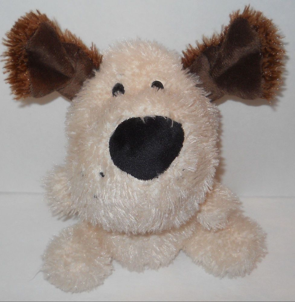 Schnozzles Ganz Big Head Dog Short Ear Puppy Plush 8 Stuffed