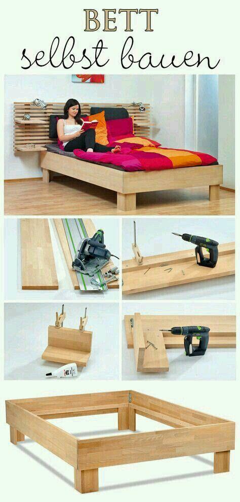 My Platform Bed Cama artesanal, Muebles en crudo