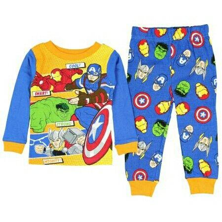 Paw Patrol Pawsome Toddler Boys Pajamas 2 Pc Set COTTON Pants Long Sleeves PJ