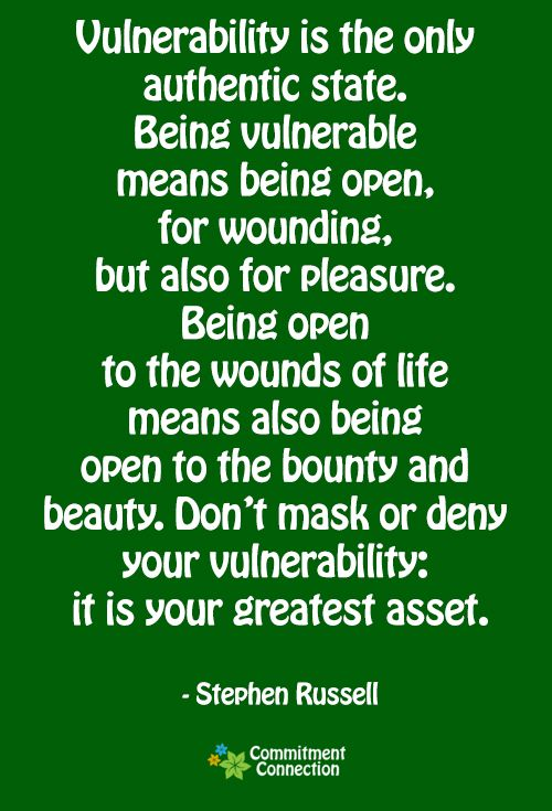 what does vulnerable mean in a relationship