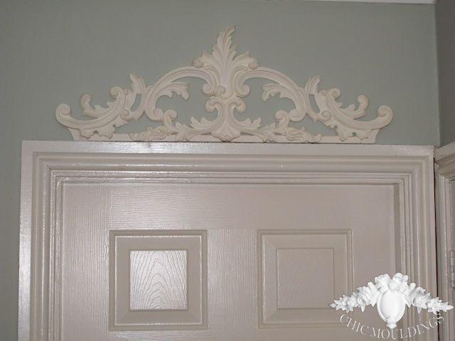 Headboard? over door ex lg pediment