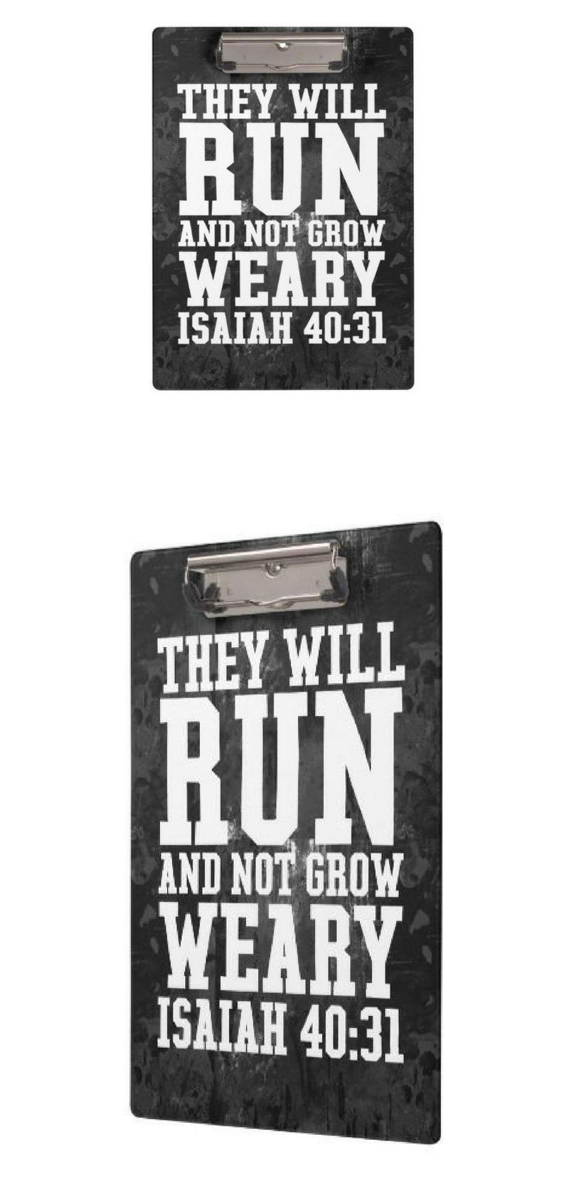 run and not grow weary christian bible running clipboard bible