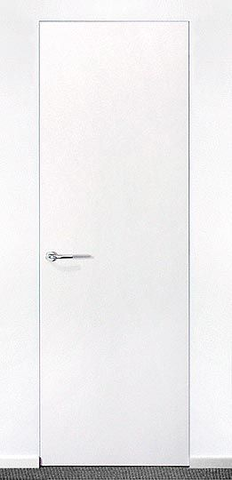 Flush Installation Of Interior Doors No Frame Moulding Need