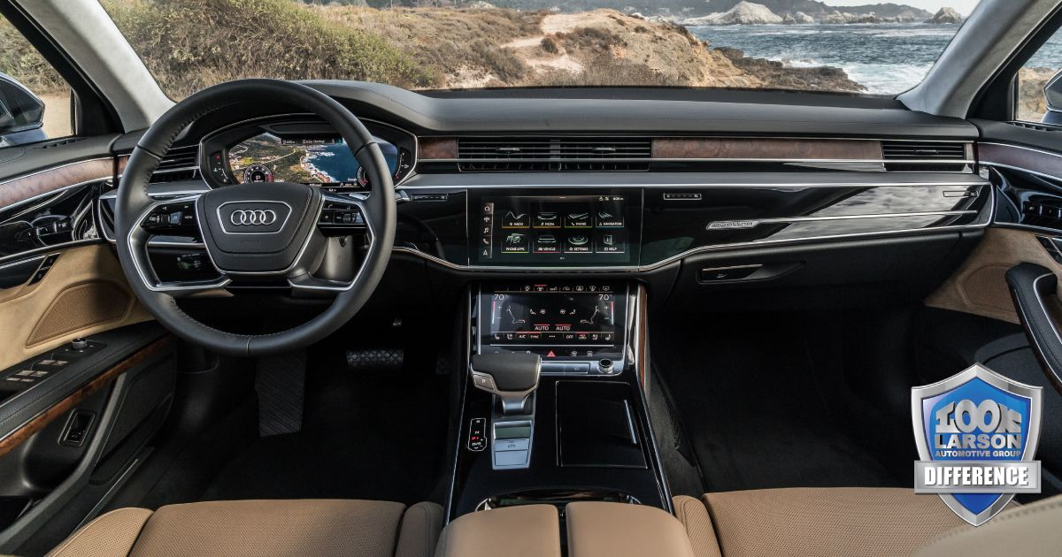 The 2019 Audi A8 Offers A Relaxing And Intuitive Interior Design