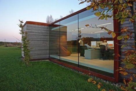 Nicolas Tye Architects Bureau de campagne Décoration maison - Idee Deco Maison De Campagne