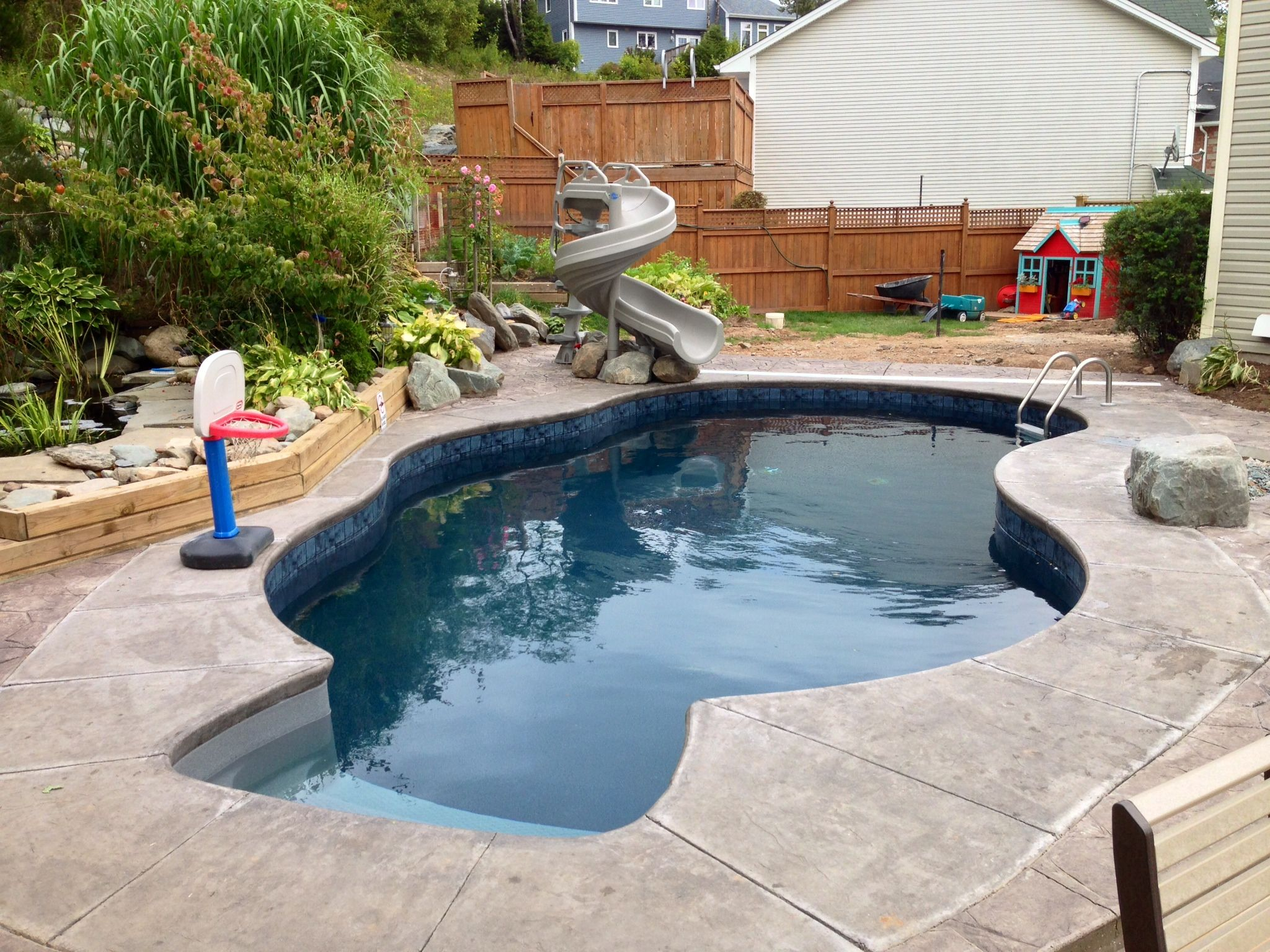 Wonderful Pool Finish Ideas For You To Copy: Traditional In-ground Pool We Installed In Dartmouth, Nova