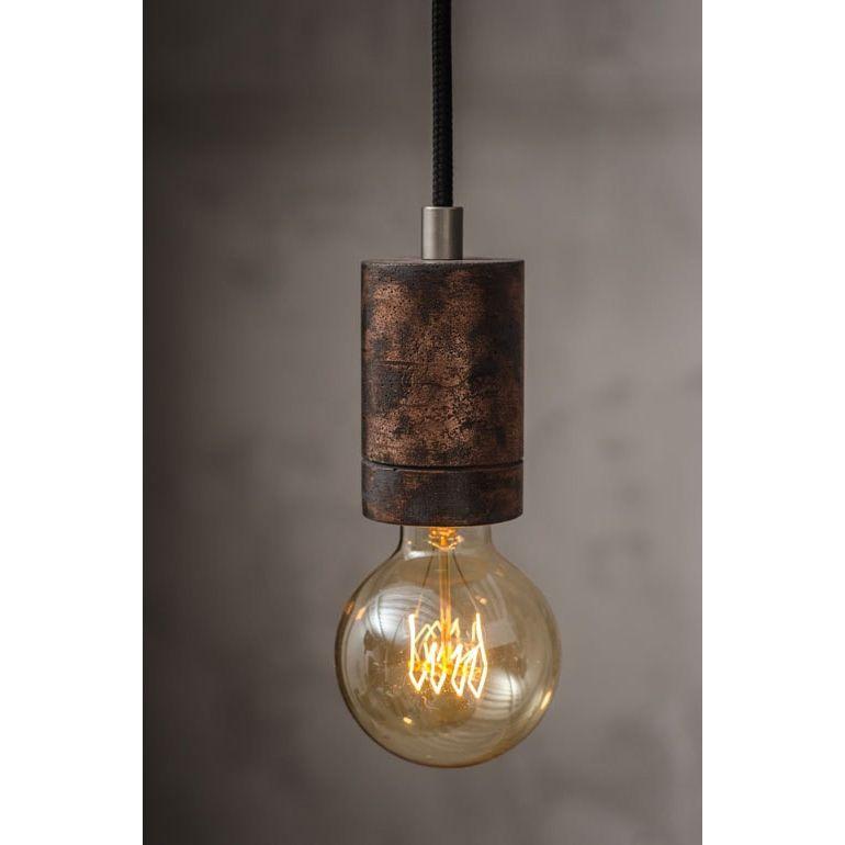 Metall Effekt Wandfarbe Kupfer: KNALLA METAL Beton-Lampenpendel Mit Metall-Finish Kupfer