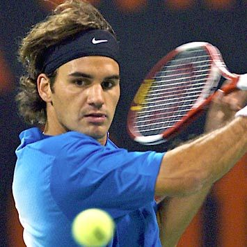 My favourite sports person of all, Roger Federer.  Are there any records he hasn't broken yet?