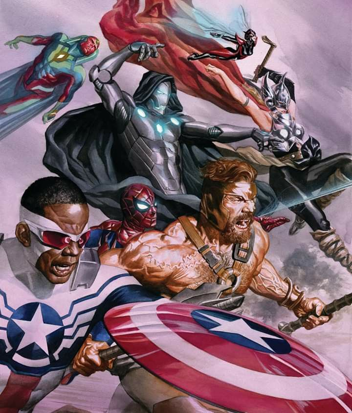 Pin by Anthony Steedley on Alex Ross Superhero, Anime