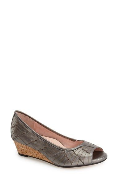 Taryn Rose 'Sadey' Open Toe Wedge (Women) available at #Nordstrom