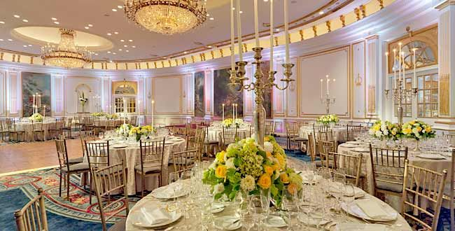 Villard mansion at the new york palace hotel america the for Top wedding venues in new england
