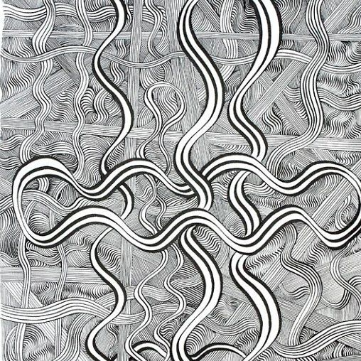 Natural forms are a common feature in Ken Resens paintings and drawings and he frequently abstracts organic forms to create a visual language that is both symbolic and decorative. via news.upperplayground.com #upnews