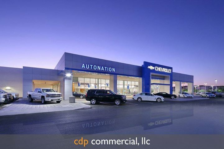 Autonation Chevrolet Gilbert Az Cdp Commercial Llc Architectural Photographers Architecture Architecture Photography