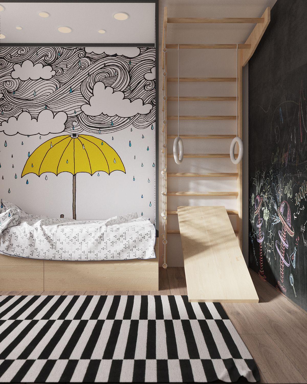 gelber regenschirm wohnidee pinterest gelber regenschirm gelb und kinderzimmer. Black Bedroom Furniture Sets. Home Design Ideas