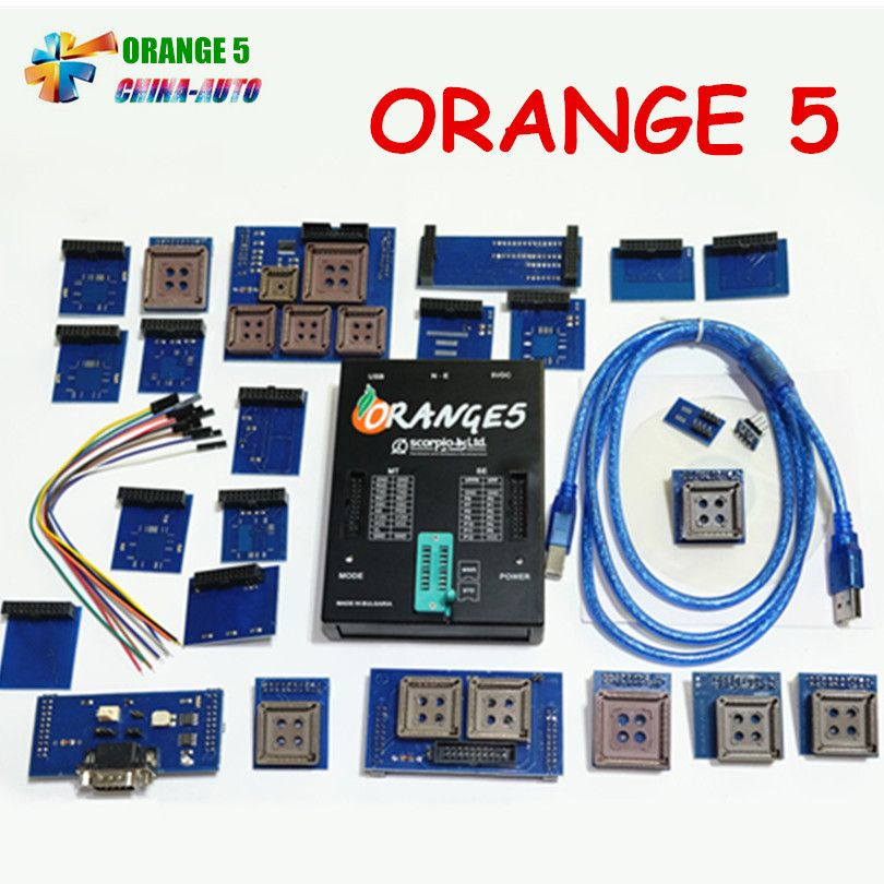 2019 Newest Orange5 Programmer Device With FULL SET Adapter High Quality