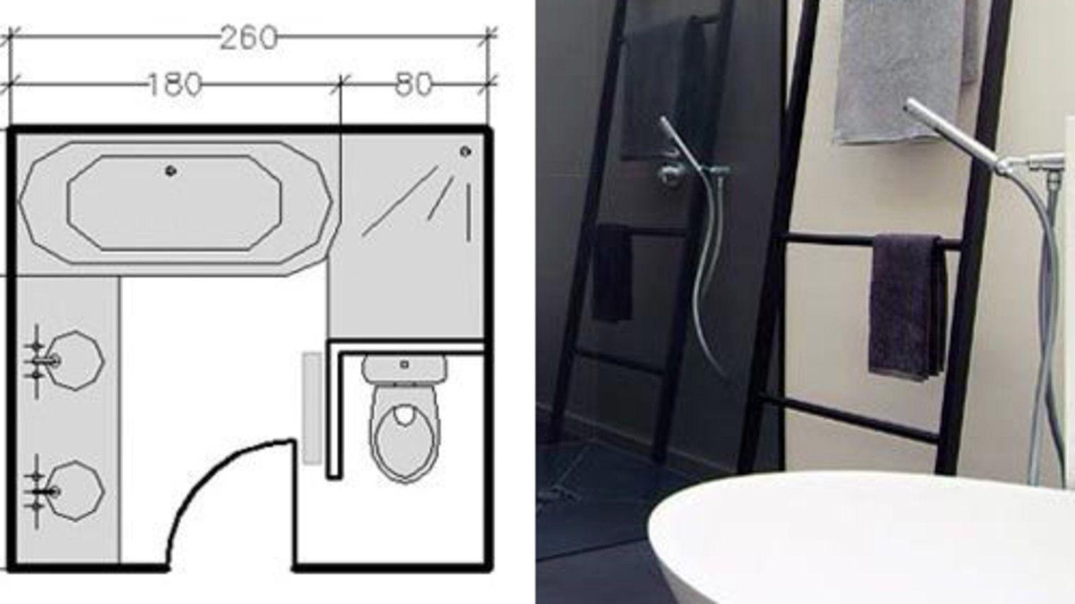 plans salle de bains  3m² 4m² 5m² 6m² et plus  plan