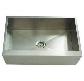 View The Mirabelle Miruc3321za 33 Single Basin Stainless Steel Kitchen Sink Undermount Installation At Faucet Com Interiores Arte