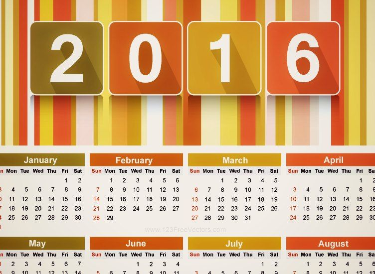 Most people are aware you can make your own calendar using software
