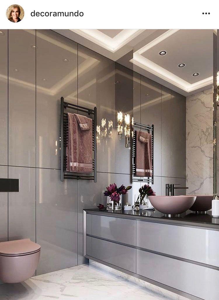 Pin di egi dia su bagno id e salle de bain d coration maison e salle de bains styl e - Bagni bellissimi moderni ...