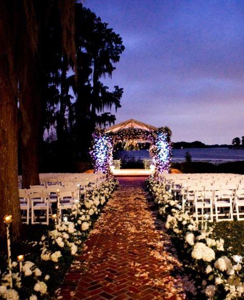 Sunset Wedding On The Beach