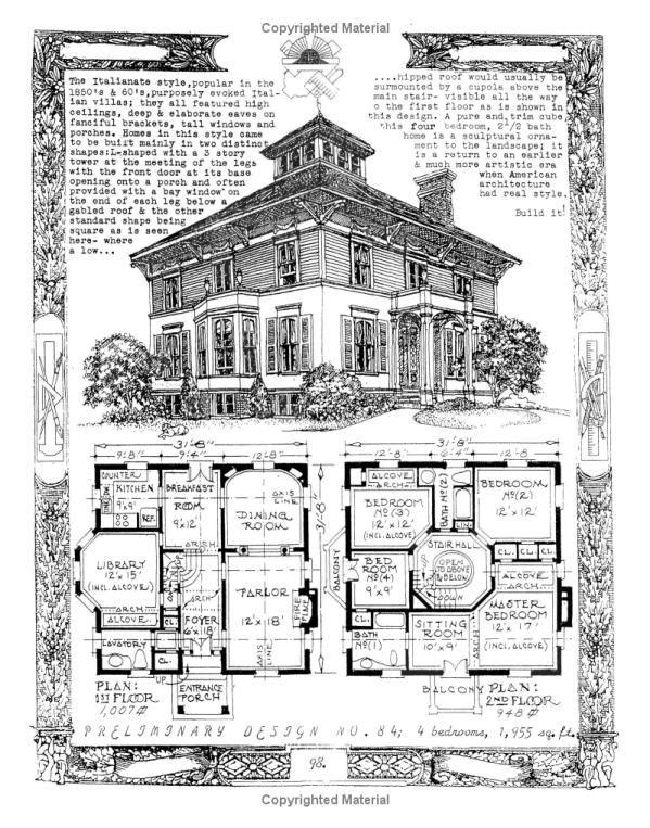 The Affordable House David John Carnivale 9781419613821 Amazon Com Books Victorian House Plans Vintage House Plans House Blueprints