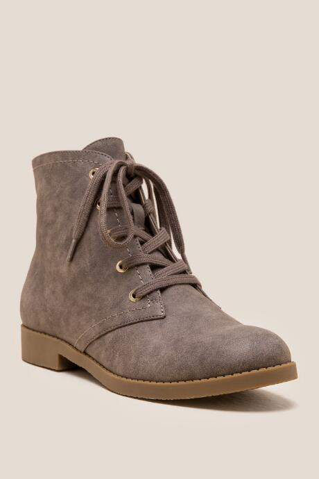 725f8e7ad047d Indigo Rd Belly Lace Up Ankle Boot - Taupe | Products | Lace up ...