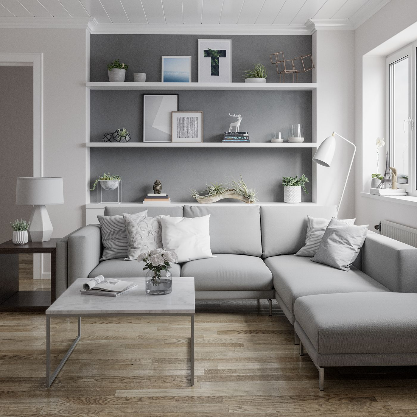 46 Cozy Living Room Ideas And Designs For 2019: Scandinavian Living Room On Behance