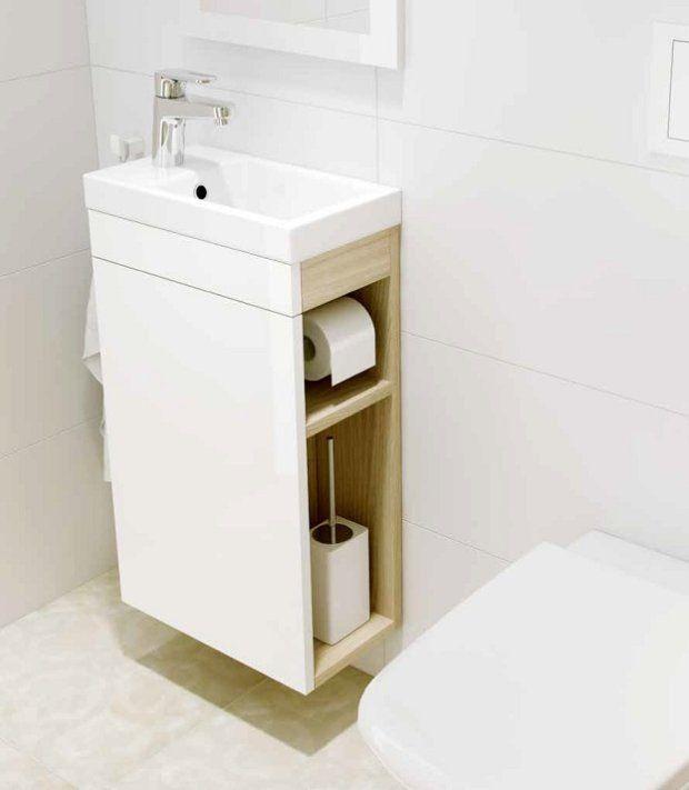 Szafka Podumywalkowa Smart Z Miejscem Na Papier Toaletowy I