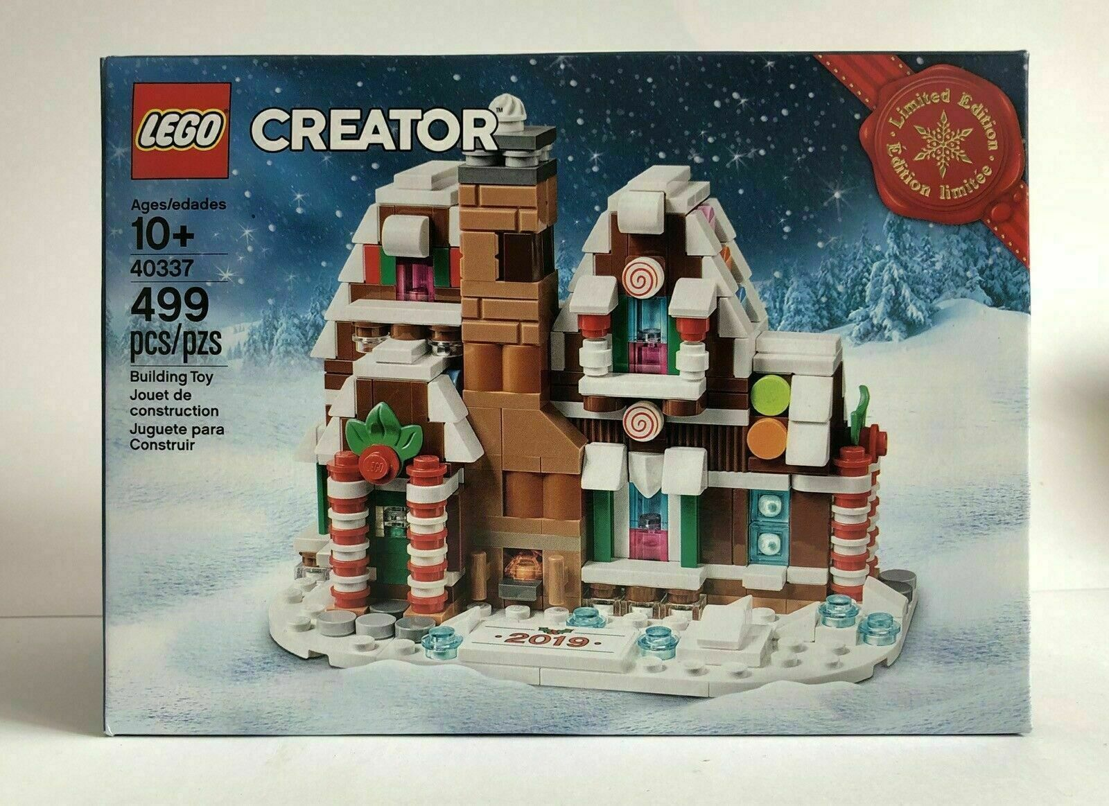 Details about LEGO Creator Mini Gingerbread House 40337