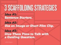 On-the-spot scaffolding is an essential skill for teachers. Check out these three strategies for assisting students when they struggle.