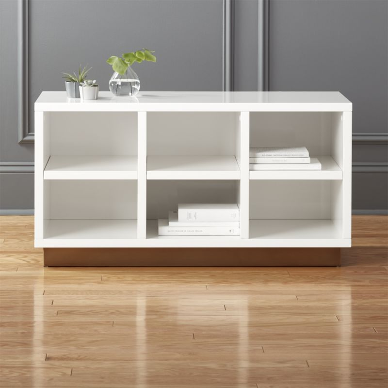 Shop Oberlin Small White Entry Bench Streamlined Bench In Hi