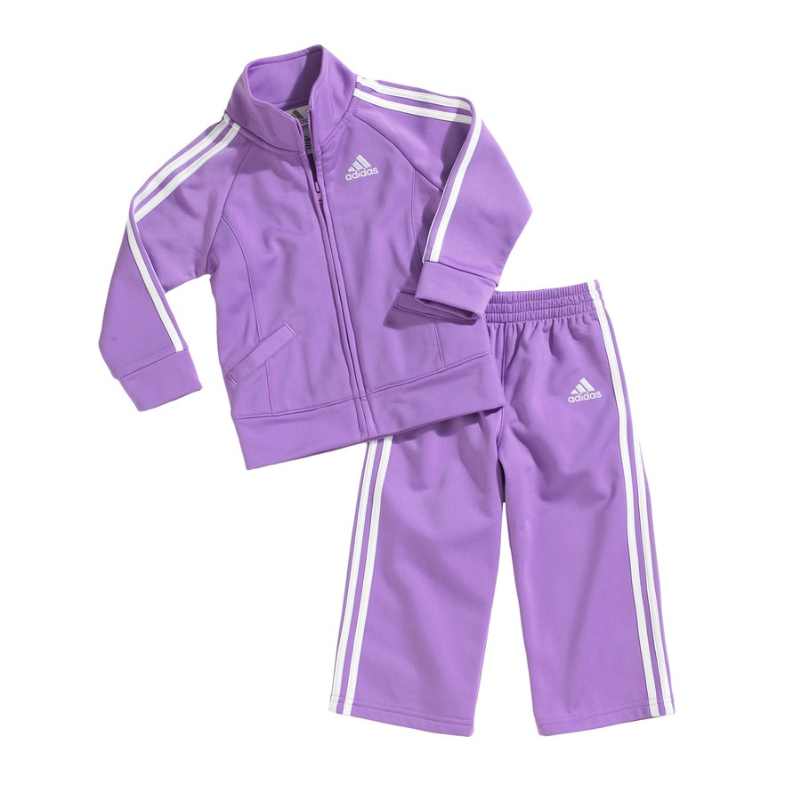 70c5e3b5ff adidas Tricot Jacket and Pants Set - Baby | Products | Adidas ...