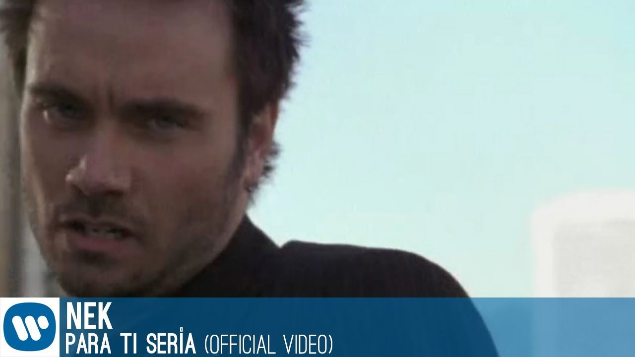 Nek - Para ti serìa (videoclip)