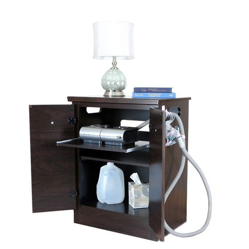 Cpap Nightstand Furniture Easy Home Decor Nightstand
