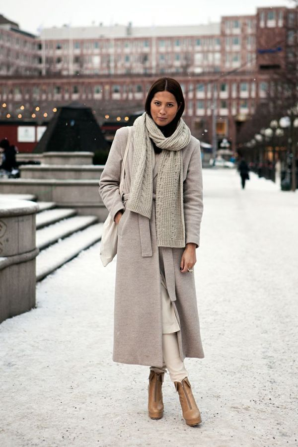 winter taupe layers     streetstyle 6b427db3c2c