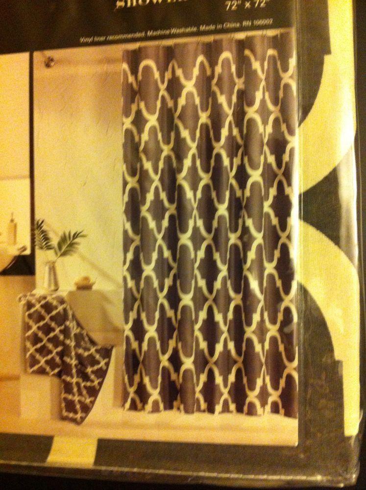Max Studio Shower Curtain 72\