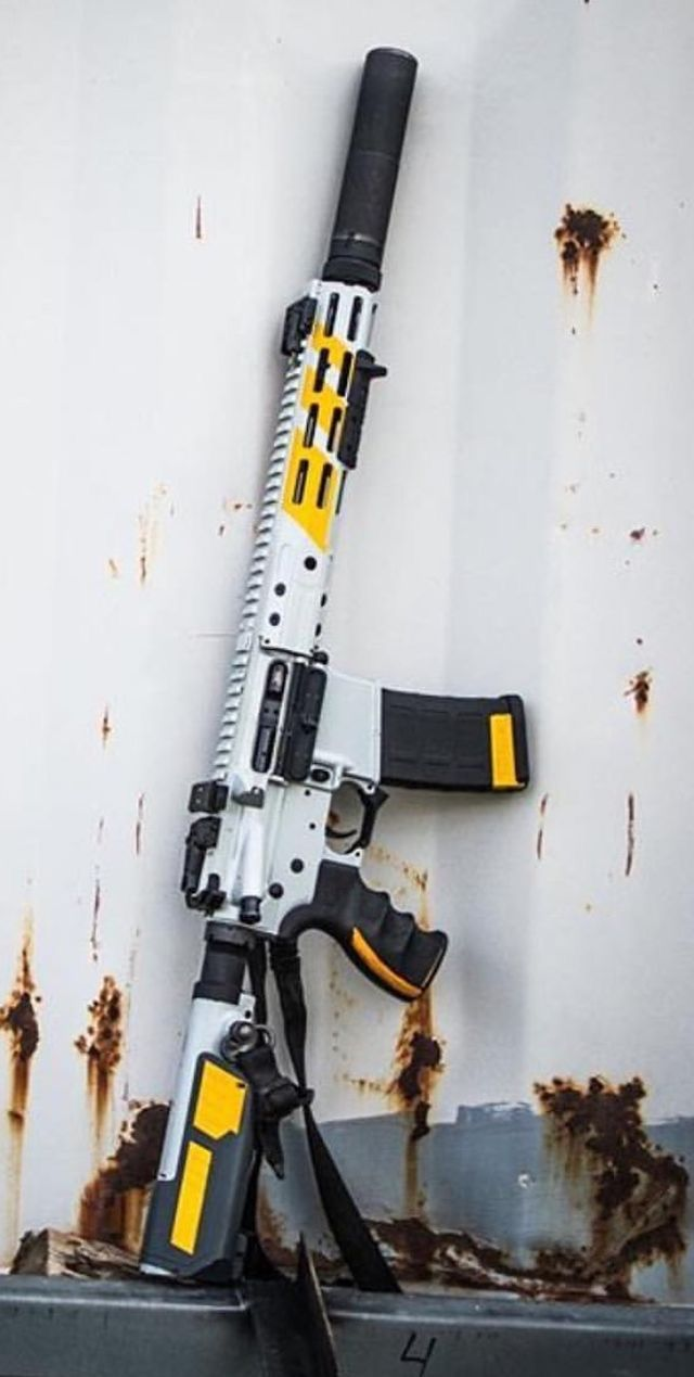 Love The Color Combo On This AR-15 | Weapons | Guns, Custom