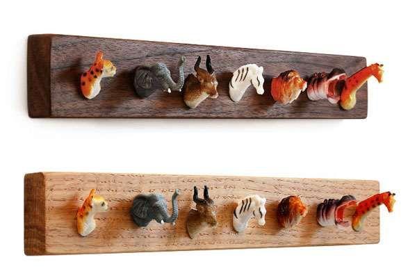 98 Hip Hooks Animal heads Coat racks and Hanger