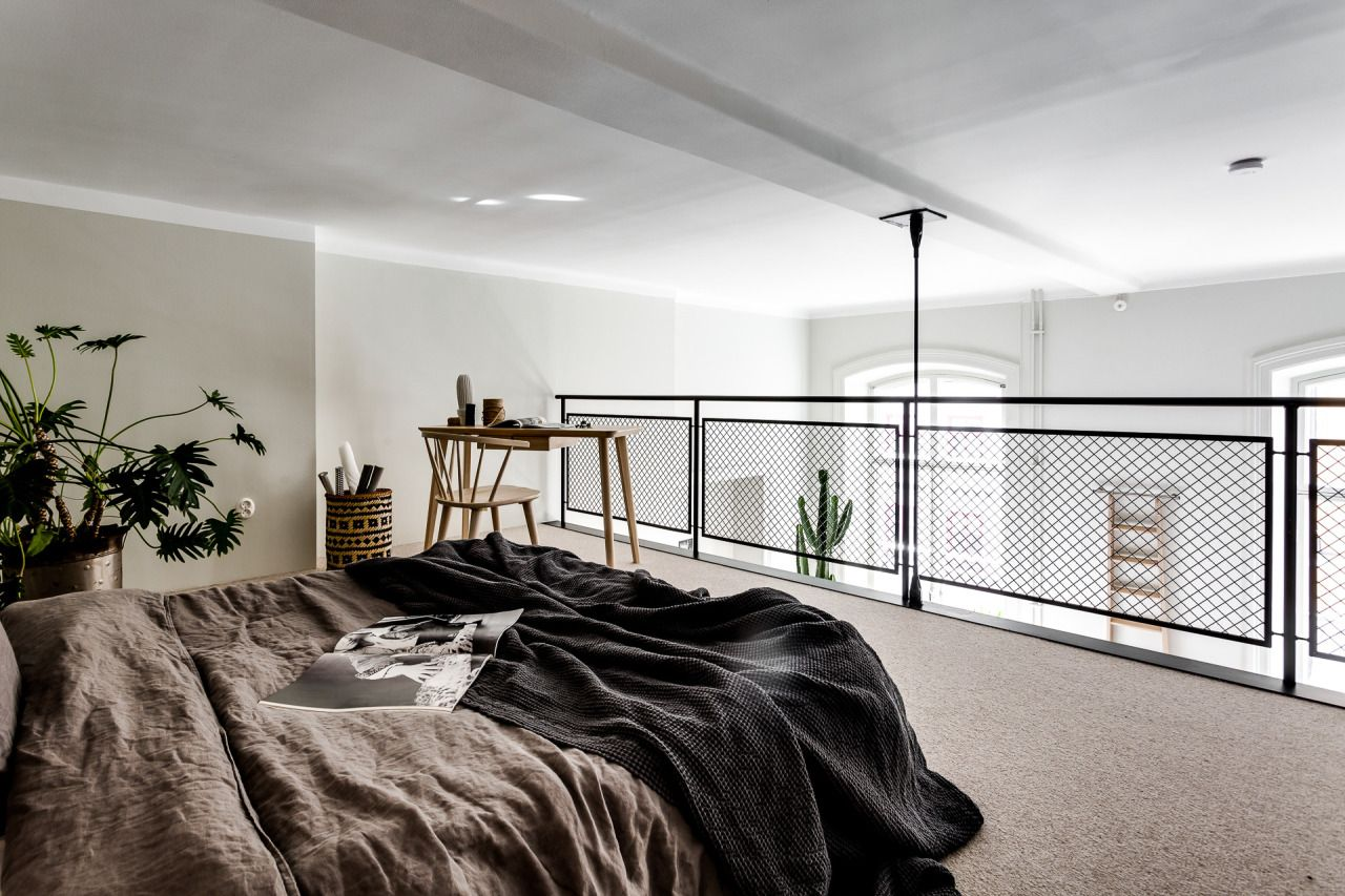 Loft bedroom with bathroom  Loft bedroom  STUDIO u LOFT APARTMENT  BLOG  Pinterest  Loft